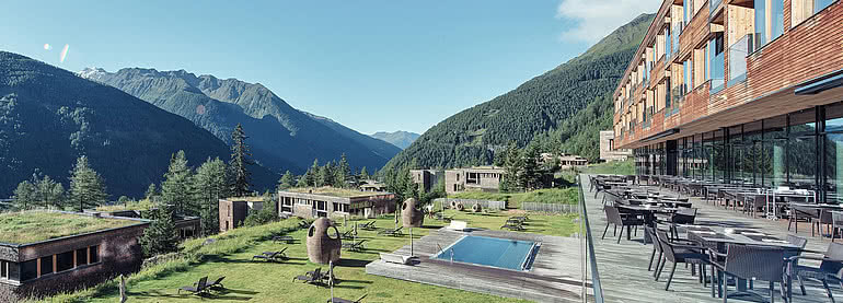 Alpine design hotel & chalets   Gradonna ****s Mountain Resort